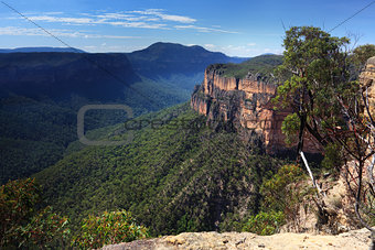 Grose Valley Blue Mountains Australia