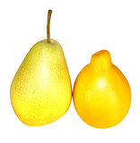 macro tasty pear