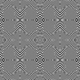 Design seamless uncolored vortex pattern