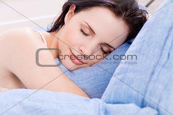 sleeping beauty portrait