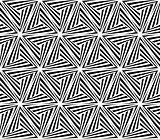Seamless Triangle Elements Pattern