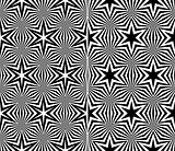 Starry Elements Seamless Patterns