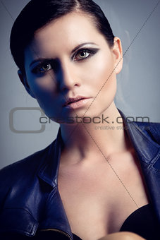 attractive young sexy woman portrait