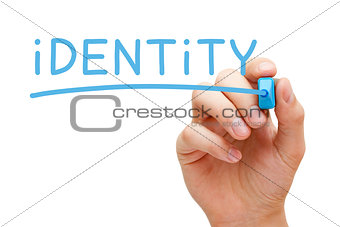 Identity Blue Marker