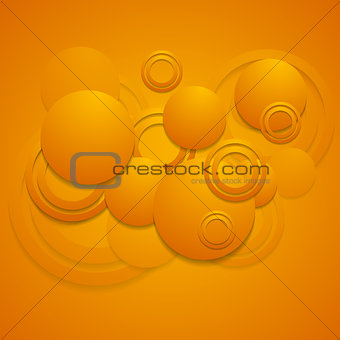 Bright abstract design