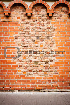 Old brick wall