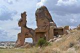 Stone formation in Cappadocia