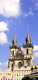 Old Town Square, Tyn Church, Prague