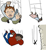 People Falling