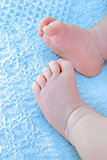 baby boy feet
