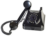 Bakelite Phone Cutout