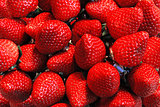 Background of strawberries.