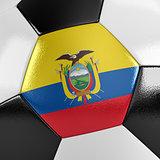 Ecuador Soccer Ball