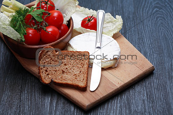 Camembert And Vegetables