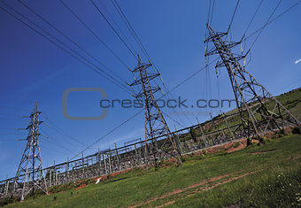 power lines electricity
