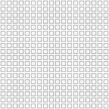 white geometric pattern with squares and circle