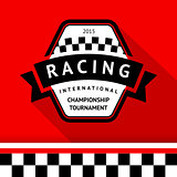 Racing badge 05