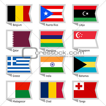 Flags of world-02