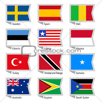 Flags of world-09