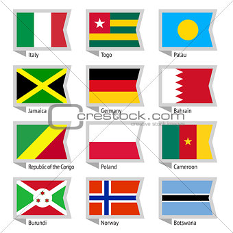 Flags of world-06