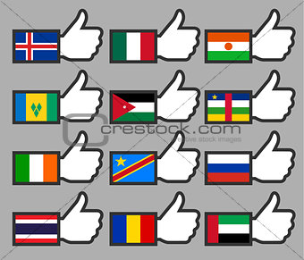 Flags in the Thumbs up-08
