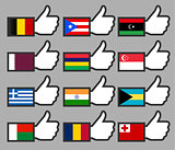 Flags in the Thumbs up-02