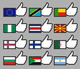Flags in the Thumbs up-03
