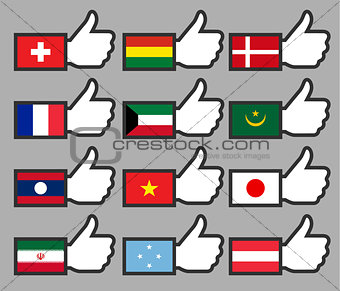 Flags in the Thumbs up-05