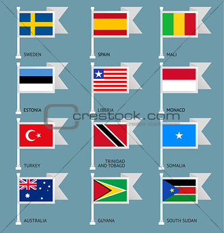 Flags set four-09