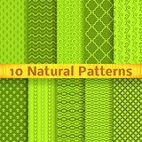 Natural vector seamless patterns (tiling)