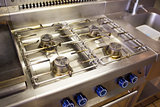 Kitchen gas stove burner