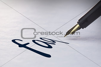 Fountain pen writing Faq