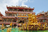Beautiful chinese temple in thailand.