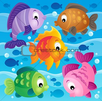 Fish theme image 9