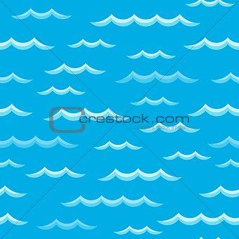 Waves theme seamless background 2