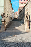 Prague - Old Castle Stairs