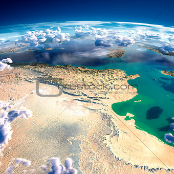 Fragments of the planet Earth. Tunisia