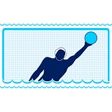 Waterpolo. Goalkeeper