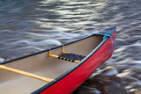 red canoe bow