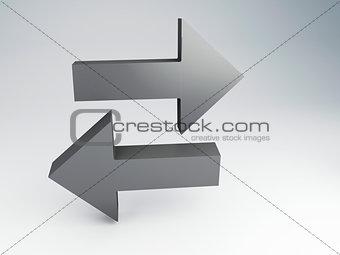 arrows, choice concept