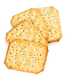 four saltine crackers