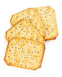 four saltine crackers