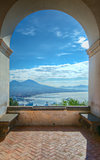 Mount Vesuvius and Gulf of Naples, Italy