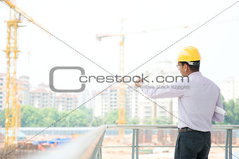 Asian Indian male architect