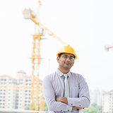 Asian Indian male contractor