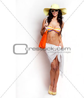 summer beach woman
