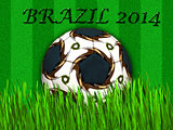 FIFA World cup - Brazil 2014 soccer ball