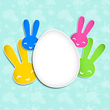 Springtime Easter Holiday Background