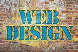 web design graffiti