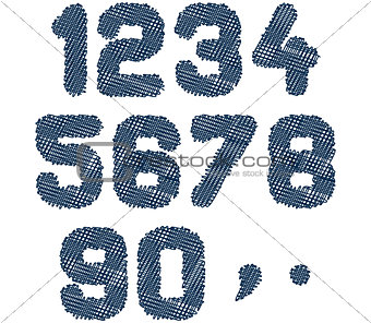 sketched numbers